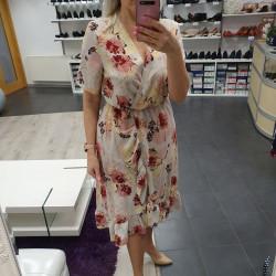 Kirju suvine kleit